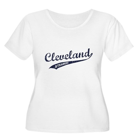 Cleveland Steamers Womens Plus Size Scoop Neck T-