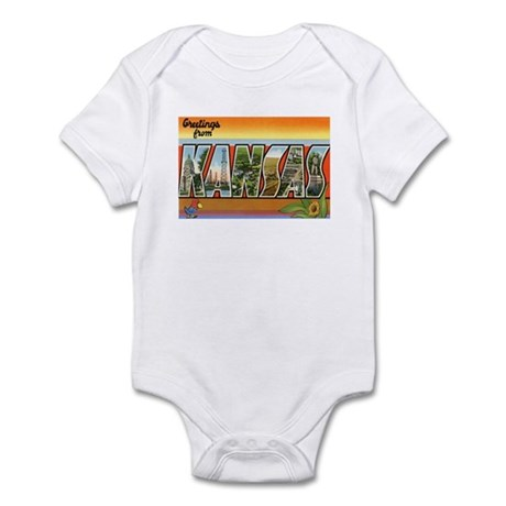 Greetings from Kansas Infant Bodysuit