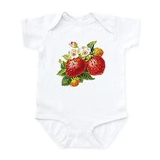 Retro Strawberry Infant Bodysuit