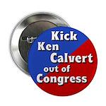 Kick Out Ken Calvert Button