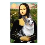 Mona's Corgi (Bl.M) Postcards (Package of 8)