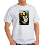 Mona's Corgi (Bl.M) Light T-Shirt