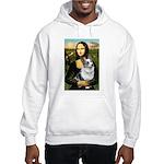 Mona's Corgi (Bl.M) Hooded Sweatshirt