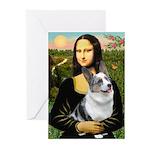 Mona's Corgi (Bl.M) Greeting Cards (Pk of 10)