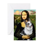Mona's Corgi (Bl.M) Greeting Card