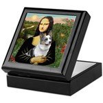 Mona's Corgi (Bl.M) Keepsake Box