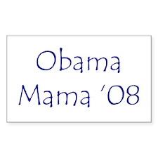 Obama Mama '08 Rectangle Decal