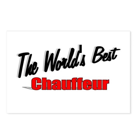 """The World's Best Chauffeur"" Postcards (Package of"