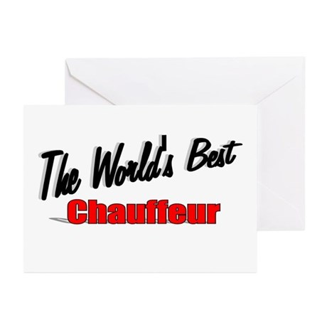 """The World's Best Chauffeur"" Greeting Cards (Pk of"