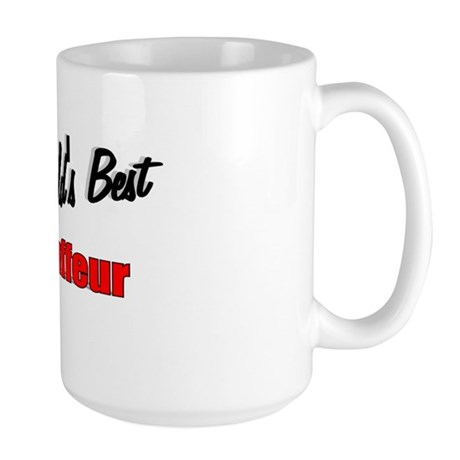 """The World's Best Chauffeur"" Large Mug"