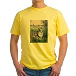 The Seine - Corgi (Bl.M) Yellow T-Shirt