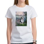 The Seine - Corgi (Bl.M) Women's T-Shirt