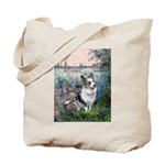 The Seine - Corgi (Bl.M) Tote Bag