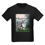 The Seine - Corgi (Bl.M) Kids Dark T-Shirt