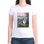 The Seine - Corgi (Bl.M) Jr. Ringer T-Shirt