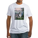 The Seine - Corgi (Bl.M) Fitted T-Shirt