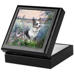 The Seine - Corgi (Bl.M) Keepsake Box