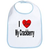 I Love My Crackberry Bib