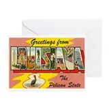Greetings from Louisiana Greeting Cards (Pk of 20)