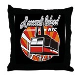 Funny Fifty ninth street bridge Throw Pillow