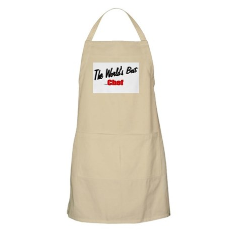 """The World's Best Chef"" BBQ Apron"