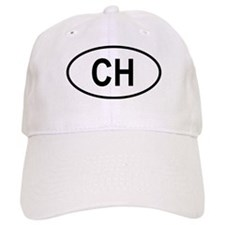 Switzerland Oval Baseball Cap
