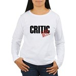 Off Duty Critic Women's Long Sleeve T-Shirt