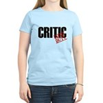 Off Duty Critic Women's Light T-Shirt