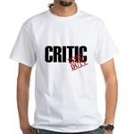 Off Duty Critic White T-Shirt
