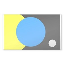 FLAG OF EARTH.... Rectangle Decal
