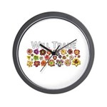 Will Trade for Daylilies Wall Clock