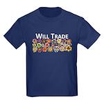 Will Trade for Daylilies Kids Dark T-Shirt