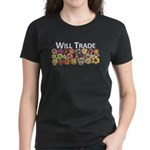 Will Trade for Daylilies Women's Dark T-Shirt