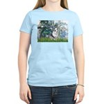 Lilies (#1) - Corgi (Bl.M) Women's Light T-Shirt