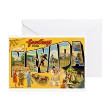 Greetings from Nevada Greeting Cards (Pk of 20)