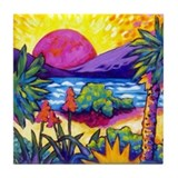 Sound of Sunrise Tile Coaster