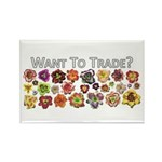 Want to trade daylilies? Rectangle Magnet (10 pack