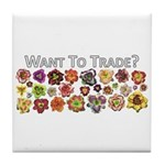 Want to trade daylilies? Tile Coaster