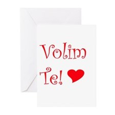 Volim Te! Greeting Cards (Pk of 10)