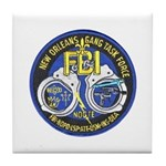 New Orleans Gang Task Force Tile Coaster