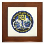 New Orleans Gang Task Force Framed Tile