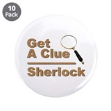"Get a Clue 3.5"" Button (10 pack)"