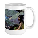 Down By The Sea Large Mug