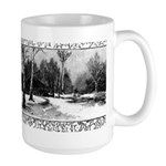 Winter Scene Large Mug
