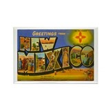 Greetings from New Mexico Rectangle Magnet