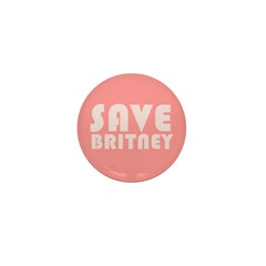 SAVE BRITNEY Mini Button (10 pack)