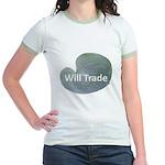 Will trade for hostas Jr. Ringer T-Shirt