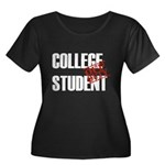 Off Duty College Student Women's Plus Size Scoop N