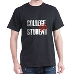 Off Duty College Student Dark T-Shirt