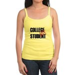 Off Duty College Student Jr. Spaghetti Tank